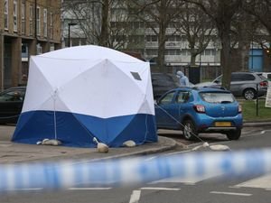 Murder inquiry under way after man shot and stabbed in north London