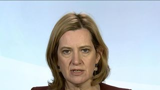 Home Secretary amber Rudd talks to Sky news about the Russian spy poisoning