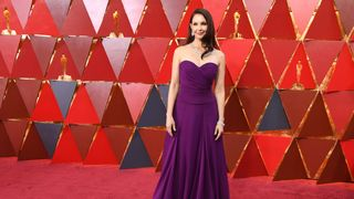 US actress Ashley Judd arrives for the 90th Annual Academy Awards on March 4, 2018, in Hollywood, California