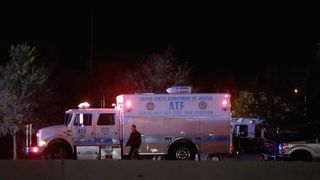 Authorities swooped on the serial bombing suspect in Round Rock, Texas