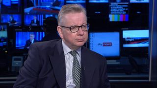 Michael Gove MP Environment Sec talks about Sky's Ocean Rescue campaign to introduce bottle deposit return scheme