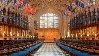 The couple will marry on the on the High Altar of St George's Chapel