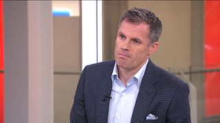 Jamie Carragher apologises on Sky News for spitting at a 14-year-old girl and her father