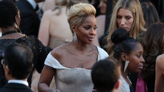 Actress Mary J. Blige arrives for the 90th Annual Academy Awards on March 4, 2018, in Hollywood, California