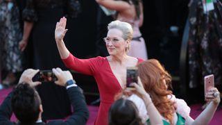 Meryl Streep arrives for the 90th Annual Academy Awards on March 4, 2018, in Hollywood, California