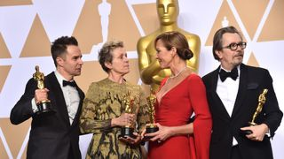 Sam Rockwell, Frances McDormand, Allison Janney, and Gary Oldman,