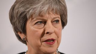 Mrs May delivered her speech at Mansion House in the City of London