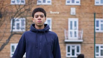Sonny is one of those featured in an anti-knife campaign
