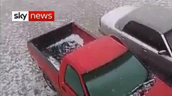 Texas hail storm