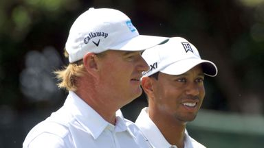 Woods & Els named Presidents Cup captains