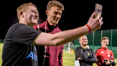 Norwich star drops in on LGBT team