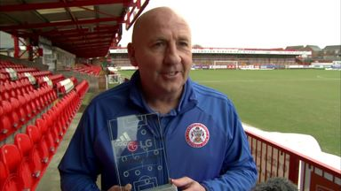 Accrington win POTW