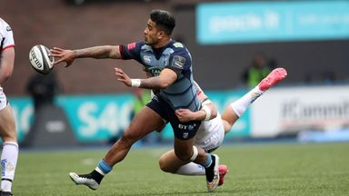 Cardiff Blues 35-17 Ulster