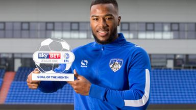 Nazon Press wins Goal of the Month