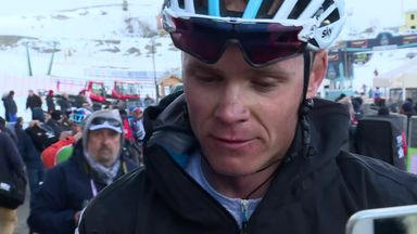 Froome: It's been tough