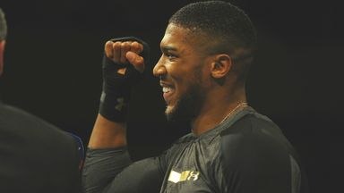Okolie: Joshua calm and focused
