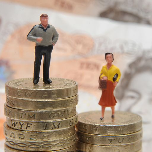 Gender pay gap at record low of 8.6%