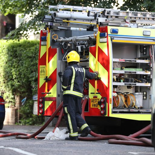 Firefighter's guilt over not being able to save more people