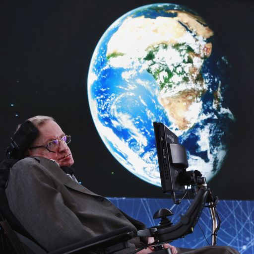 Stephen Hawking on life, death, God and boasting losers