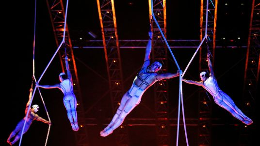 Cirque du Soleil, at the Royal Albert Hall in London, 2014