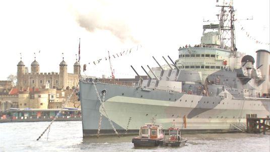 HMS Belfast Celebrates 80th Birthday