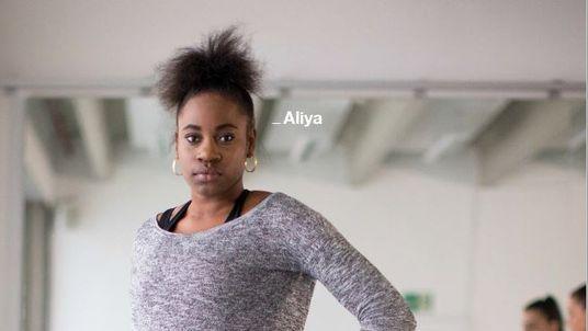 Aliya is one of those featured in an anti-knife campaign