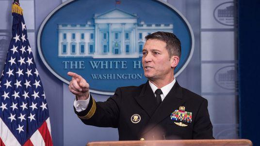 White House doctor, Ronny Jackson