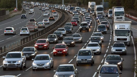 Traffic is expected to be worst on Good Friday. File pic