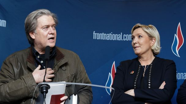 Bannon to Le Pen rally: 'Let them call you racist'