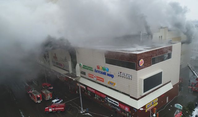 At least 53 killed in Russian Federation shopping mall inferno