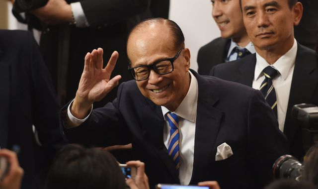 Hong Kong tycoon Li Ka-shing announces retirement