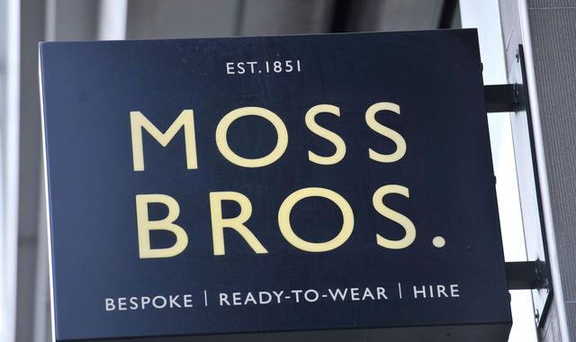 Moss Bros posts first annual loss for eight years