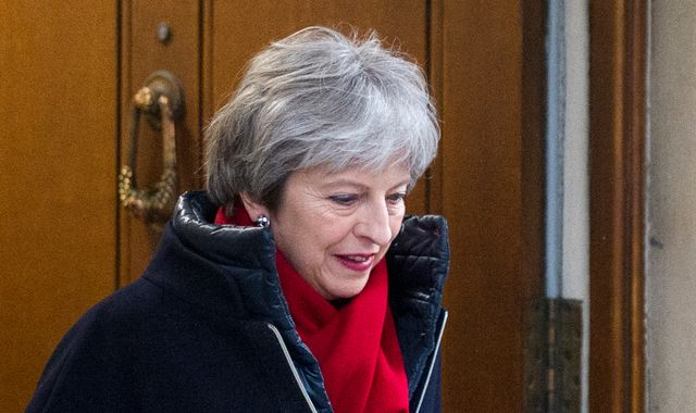 May vows to 'rewrite planning rules'