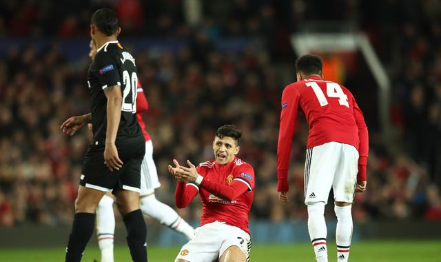 Manchester United fail at European stage