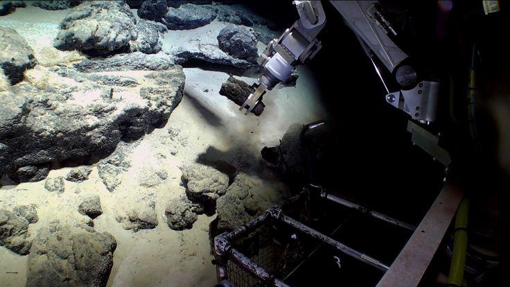 Sea mining