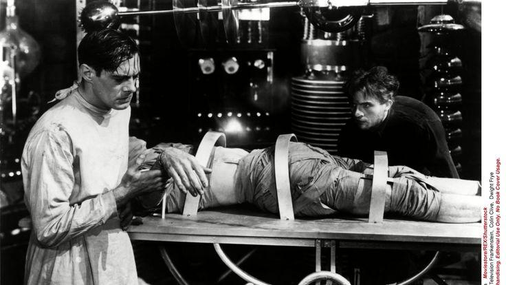 Moviestore Collection/REX/Shutterstock Frankenstein - Boris Karloff in 1931