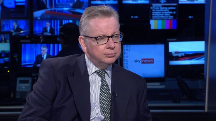 Michael Gove MP Environment Sec talks about Sky's Ocean Rescue campaign to introduce bottle deposit return scheme