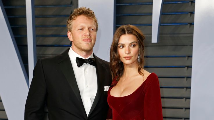 Emily Ratajkowski and new husband Sebastian Bear-McClard