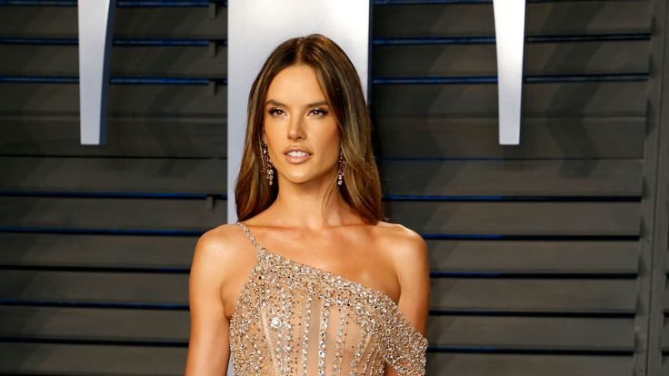 Model and actress Alessandra Ambrosio
