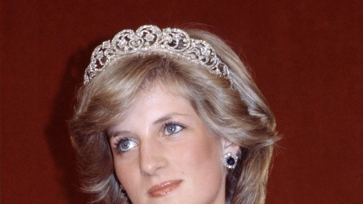 Princess Diana wearing the Spencer tiara in Australia in 1983