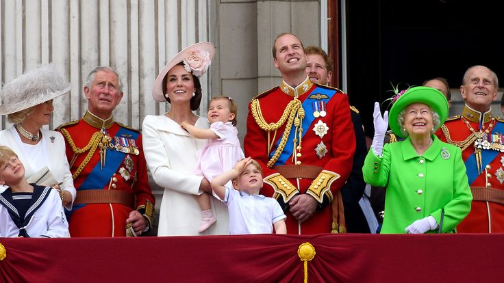 Prince George loves the Trooping the Colour