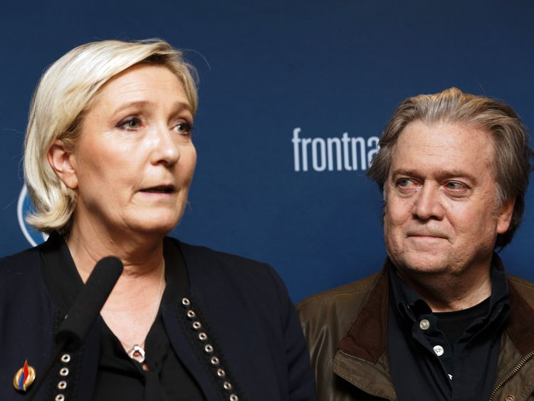 Marine Le Pen is overseeing a rebrand of her party