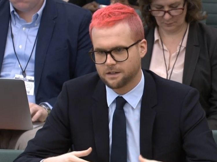 Cambridge Analytica whistleblower Christopher Wylie