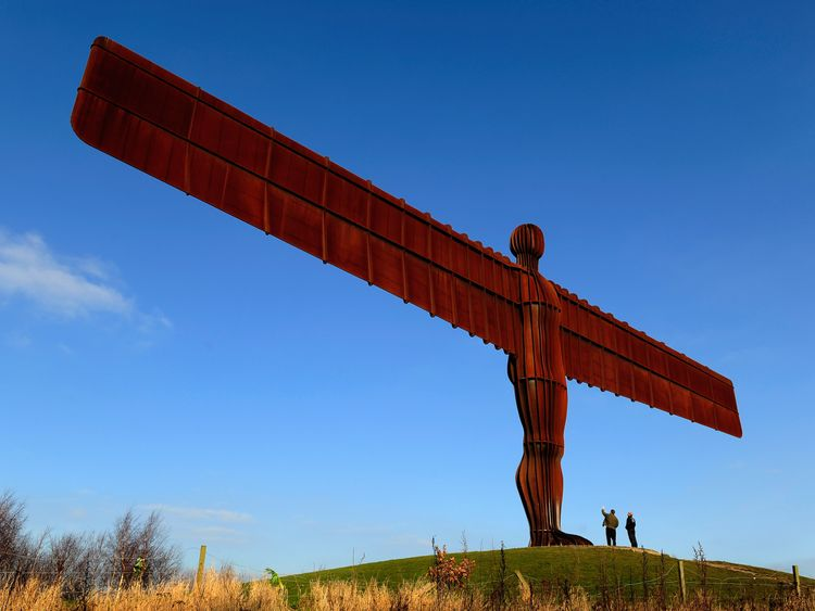 The North East had the UK's greatest inequality in property ownership