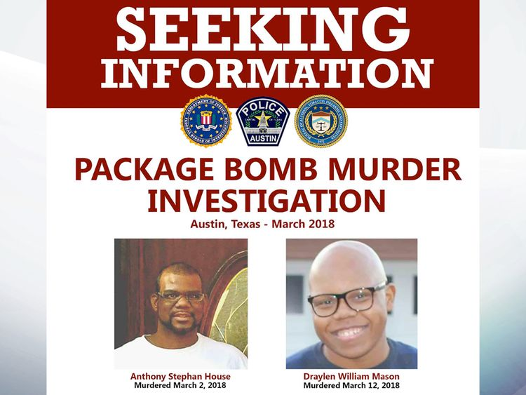 Package bomb murder investigation