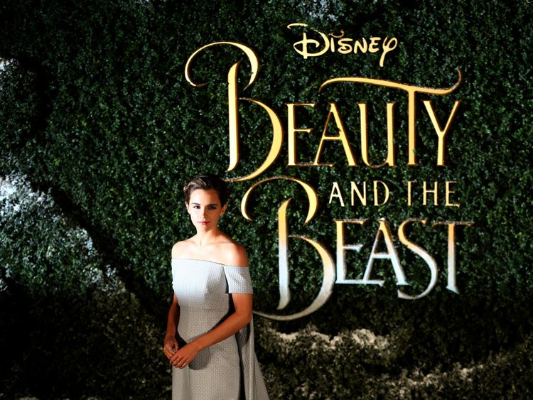 Emma Watson is Belle in Beauty and the Beast