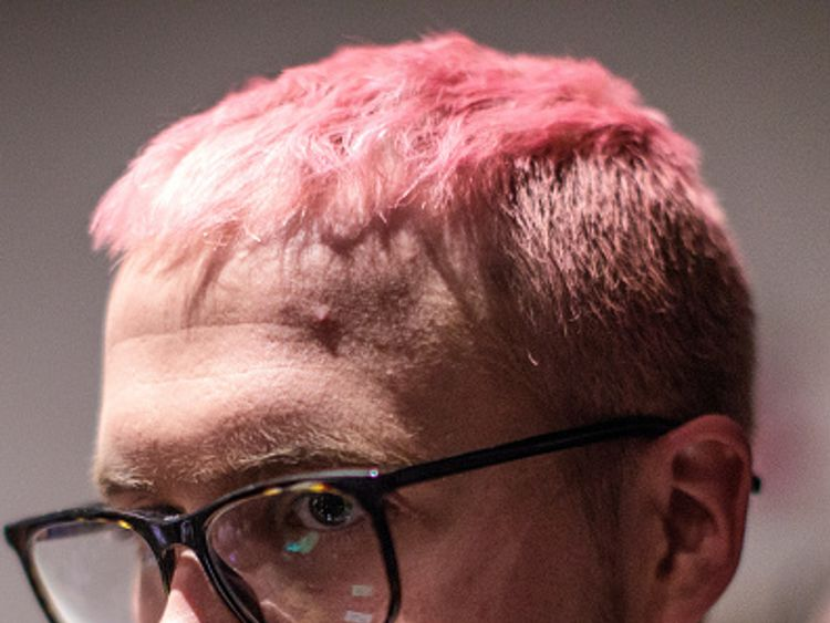 uthorities Seek Warrent To Search Premises Of Elections Consultancy Firm LONDON, ENGLAND - MARCH 20: Cambridge Analytica whistleblower Christopher Wylie arrives for an event at the Frontline Club on March 20, 2018 in London, England. British authorities are seeking a court order to search the offices of the data mining and political consulting firm Cambridge Analytica. The company allegedly used the information of 50 million Facebook users in order to influence the 2016 US Presidential election.