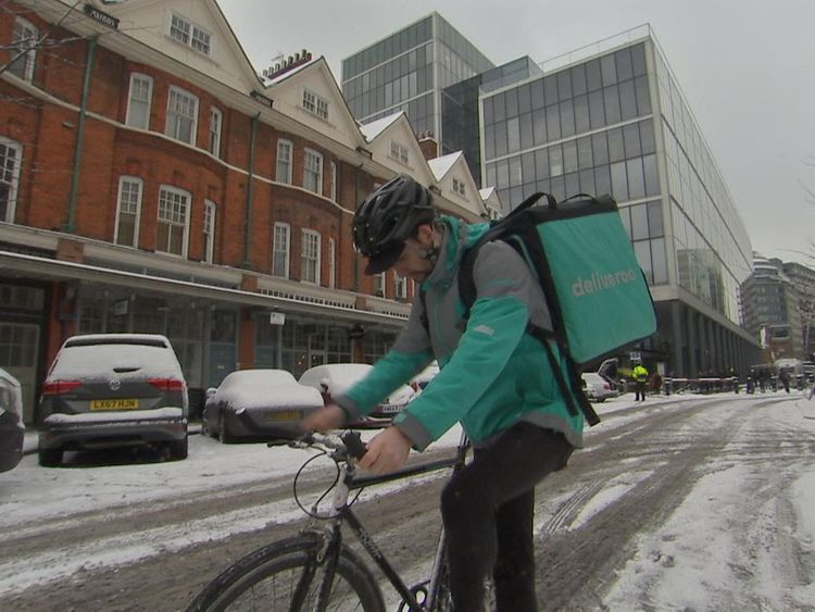 Deliveroo will be launching an opt-in button for cutlery