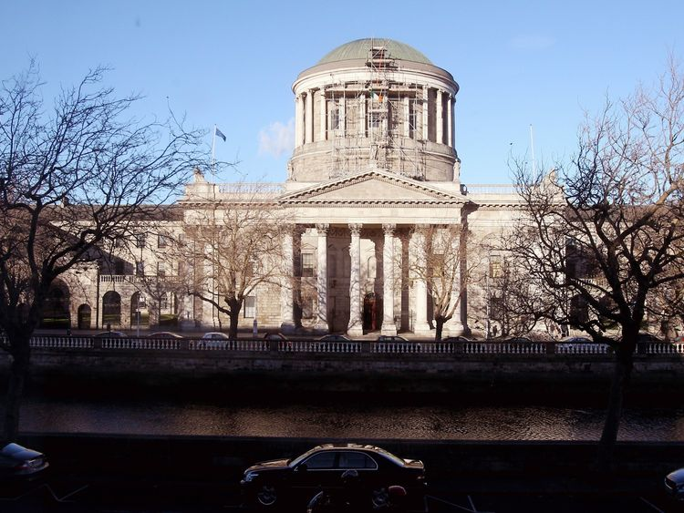 A general view of the Four Courts in Dublin, the location of the Supreme Court