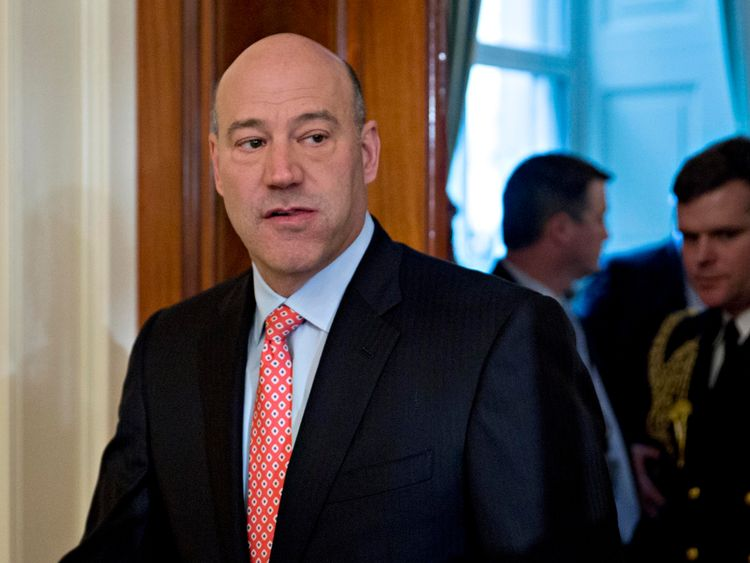 Gary Cohn has resigned as director of the U.S. National Economic Council